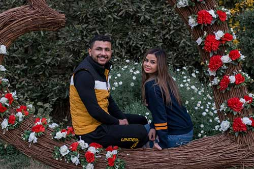 ALI GHOSLAN & MENNA ARAFA LOVED IL CAMPO