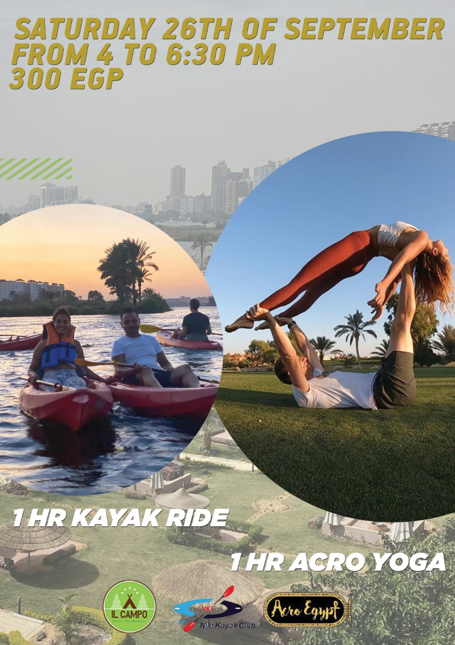 Kayak & AcroYoga Event 26th September