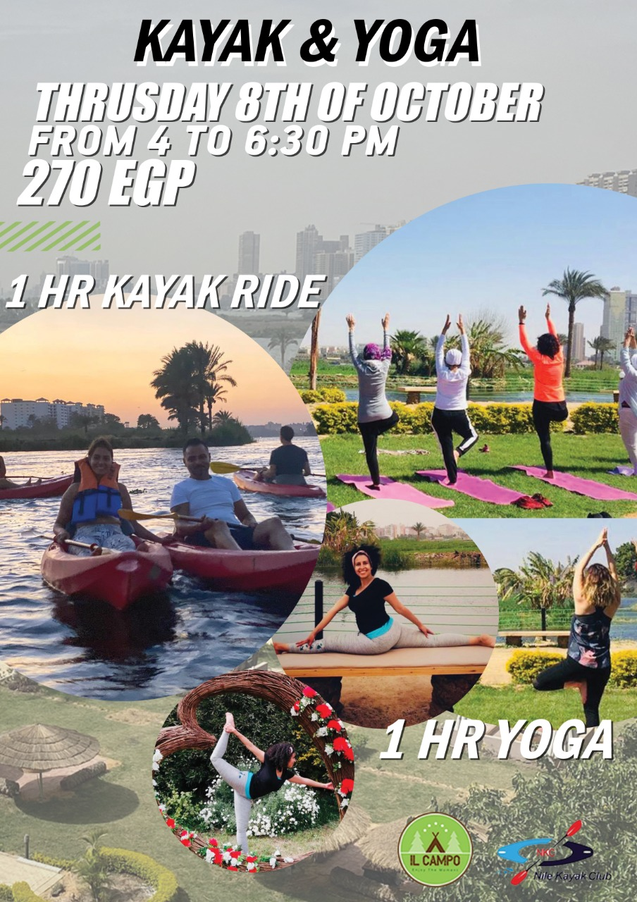 Kayak & Yoga Event 8th October